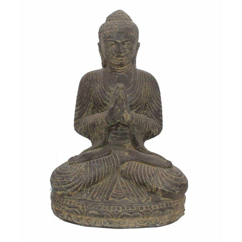Boeddhabeeld lotushouding