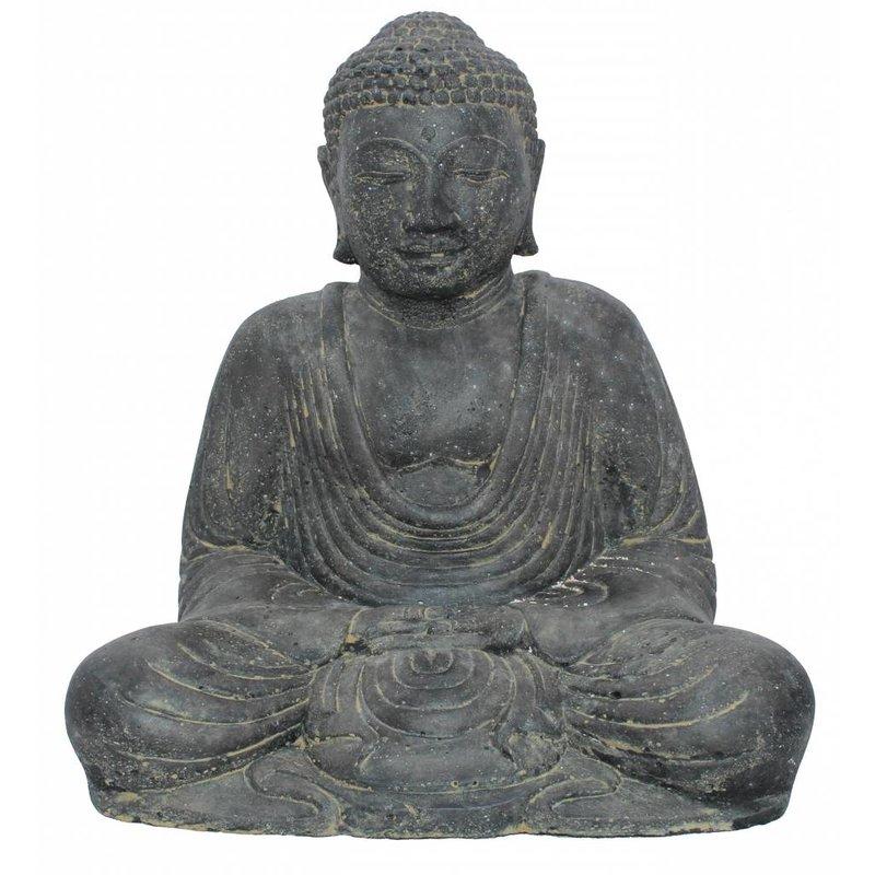 Japans boeddhabeeld zittend 30 cm