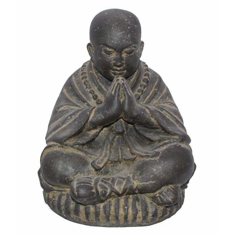 Beeld shaolin monnik lotushouding