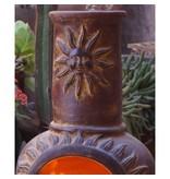 Sol-y-Yo Mexicaanse tuinhaard rood zon 108 cm