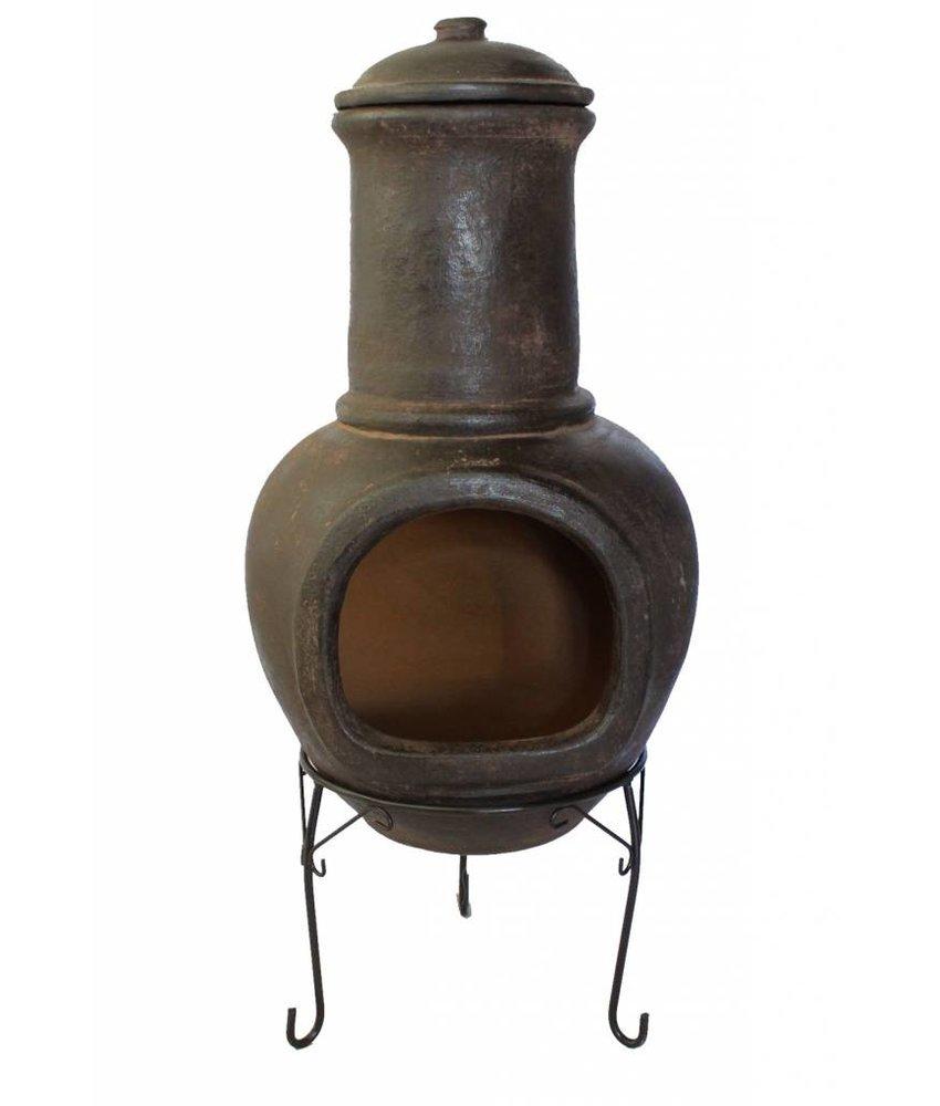 Sol-y-Yo Mexicaanse tuinhaard bruin 108 cm