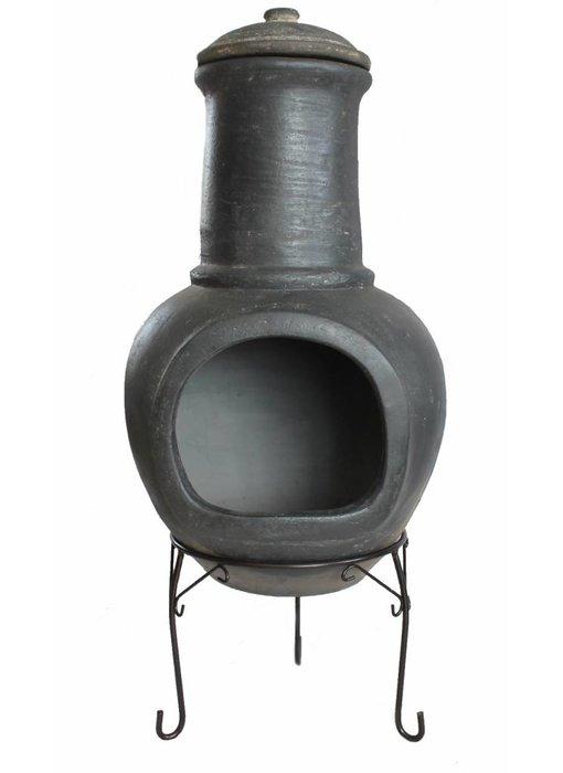 Sol-y-Yo Mexicaanse tuinhaard grijs 108 cm