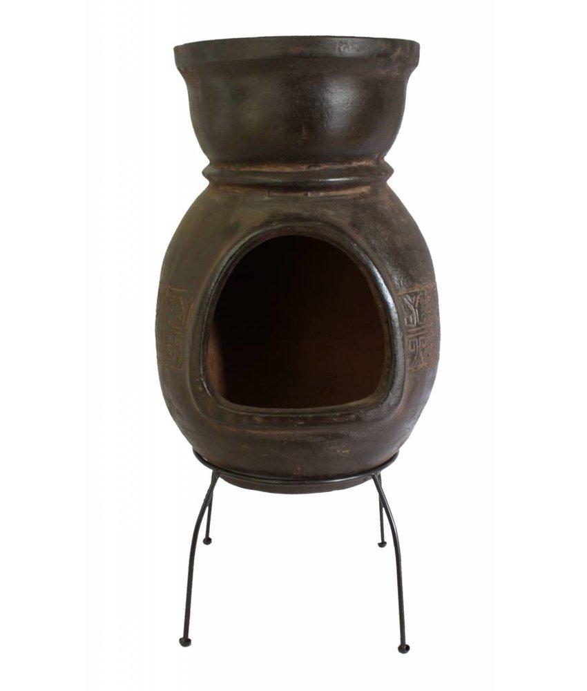 Sol-y-Yo Mexicaanse tuinhaard bbq bruin 76 cm