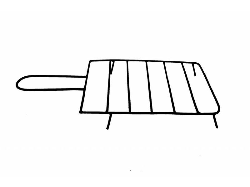 Sol-y-Yo Mexicaanse tuinhaard bbq grijs 108 cm