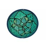 Marokkaanse kom aqua 22 cm