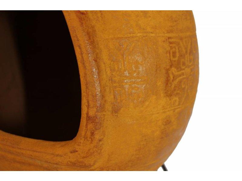 Sol-y-Yo Mexicaanse tuinhaard bbq geel 76 cm
