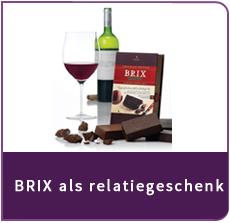 BRIX Chocolate for Wine relatiegeschenk