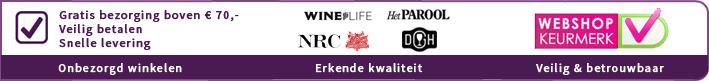 Vindict Wine, betrouwbaar onbezorgd wijn kopen