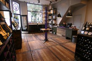 Vindict wijnwinkel Amsterdam