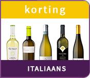 Korting Italiaanse witte wijnen
