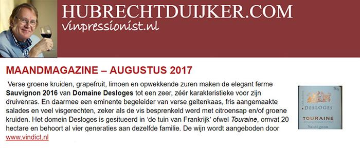 Domaine Desloges - Hubrecht Duijker