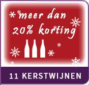 11 kerstwijnen met meer dan 20% korting
