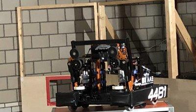 Team Rembrandts robot revealed!