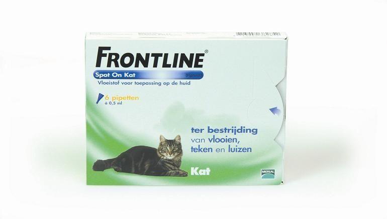 Frontline Frontline Kat 6 Pipetten