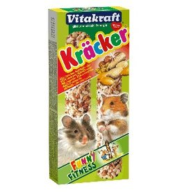 Vitakraft Hamstercrackers 2 stuks. Noten