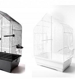 Vogelkooi Maja, wit of zwart