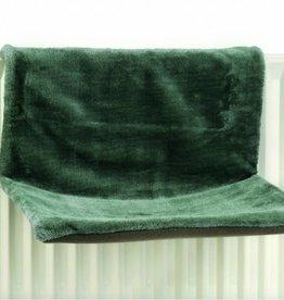 Radiator hangmat grijs/groen