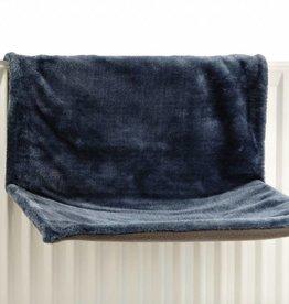 Radiator hangmat blauw