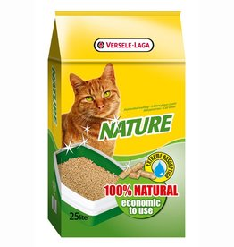 Nature houtkorrel kattenbakvulling. 25 liter