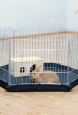 Bodemzeil voor konijnenren