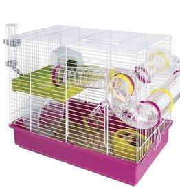 Hamsterkooi Laura Fer Plast Roze