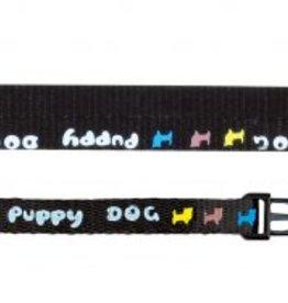 Puppy set. Halsband en looplijn