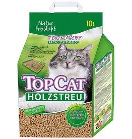 Top Cat houtkorrel 10 liter