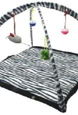 """Katten speelmat """"zebra"""""""