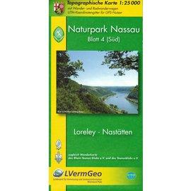 Karte Naturpark Nassau