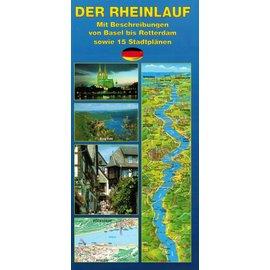Karte - Der Rheinlauf