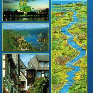 Der Rheinlauf