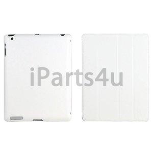 Smartcase iPad Wit Leer