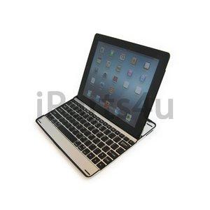 iPad Toetsenbord Aluminium Keyboard Case Zwart