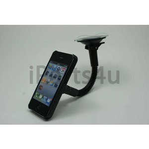 Auto Houder met zuignap iPhone 4S & 4