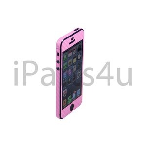 Carbon Skin iPhone 5/5S Roze