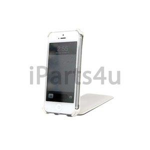 Flip Case iPhone 5/5S Klaphoesje Wit Leer