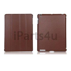 Smartcase iPad Donker Bruin Leer
