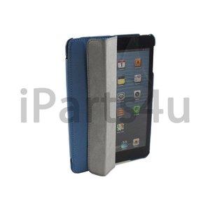 Smartcase iPad Mini Blauw Leer