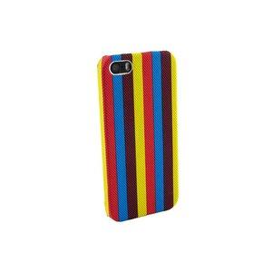 Hardcover hoesje iPhone 5/5S strepen div kleuren