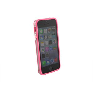 Bumper iPhone 5/5S transparant Roze