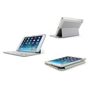 Toetsenbord iPad mini 1 & 2 Cover Backlight Grijs