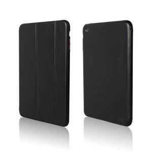 Luxe Smartcase iPad Mini 1 & 2 Zwart Leer