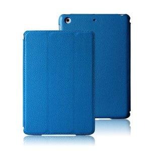 Smartcase iPad Mini 1 & 2 Baby Blauw Leer