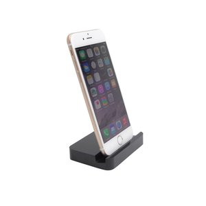 Luxe Lightning Docking Station iPhone 6 / 6 Plus Dock Zwart