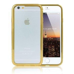 iPhone 6 en 6S Bumper Goud Diamantjes