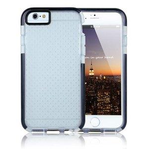 iPhone 6 / 6S Two-Tone Bumper Case Transp Zwart