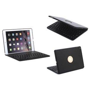 Toetsenbord iPad Air 2 / Pro Hoes Note Kee Zwart