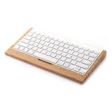 Toetsenbord Houder Apple Wireless Keyboard Licht Bamboe Hout