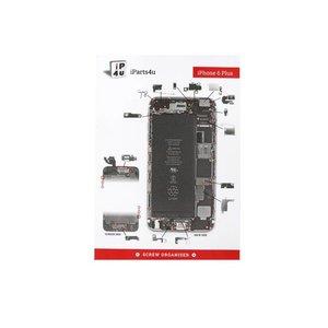 Screworganizer iPhone 6 Plus Schroef Mat Overzicht