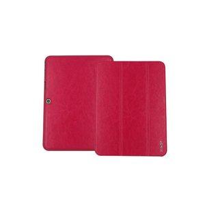 Samsung Galaxy Tab 4 10.1 Inch Luxe Lederen Zakelijke Hoes Rood